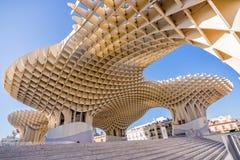 Metropol Parasol, modern architecture on Plaza de la Encarnacion in Seville Stock Photo