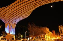 Metropol Parasol. Modern architecture - Metropol Parasol in Seville Royalty Free Stock Images