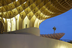 Metropol Parasol in the morning blue hour Stock Photography