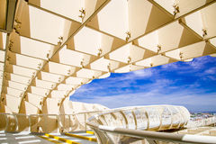 Metropol Parasol in Plaza de la Encarna Royalty Free Stock Photos