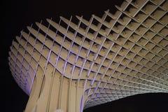 Metropol Parasol in Plaza de la Encarnacion, the biggest wooden structure in Europe. Seville, Metropol Parasol in Plaza de la Encarnacion, the biggest wooden Stock Image