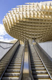 Metropol Parasol in Plaza de la Encarnacion on 31 of May 2014 in Royalty Free Stock Photo