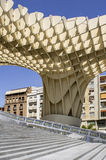 Metropol Parasol in Plaza de la Encarnacion on 31 of May 2014 in Royalty Free Stock Image