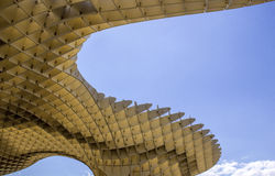 Metropol Parasol in Plaza de la Encarnacion on 31 of May 2014 in Royalty Free Stock Photos