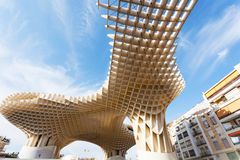 Metropol Parasol in Plaza de la Encarnacion in Sevilla Royalty Free Stock Photography