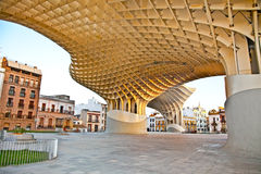 The Metropol Parasol in Plaza de la Encarnacion in Sevilla Stock Images