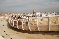 Metropol Parasol przej?cie w Seville fotografia royalty free
