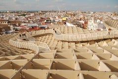Metropol Parasol przej?cie w Seville zdjęcie stock