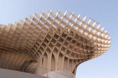 Metropol Parasol in Sevilla. Metropol Parasol in Plaza de la Encarnacion in Seville, designed by J. Mayer H. architects. This futuristic structure, which was Stock Photo