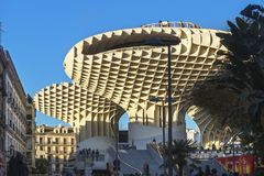 Metropol Parasol, Sevilla, Andalusia, Spain. Royalty Free Stock Images