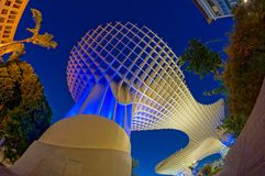 Metropol Parasol in Sevilla Royalty Free Stock Photography