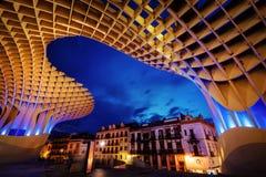 Metropol Parasol Sevilla. Taken in 2015 taken in HDR Stock Photos