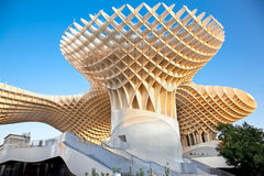 The Metropol Parasol in  Sevilla, Spain Royalty Free Stock Photo