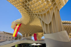 Metropol Parasol in Sevilla,Spain Stock Photography