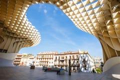 Metropol Parasol in Sevilla Royalty Free Stock Photography