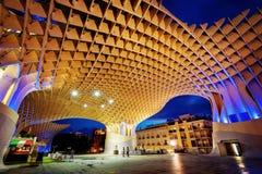 Metropol Parasol Sevilla. Taken in 2015 taken in HDR Royalty Free Stock Photos