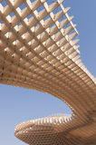 Metropol Parasol in Seville. The Metropol Parasol in Plaza de la Encarnacion in Seville, designed by J. Mayer H. architects. This futuristic structure, which was Royalty Free Stock Images