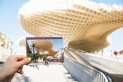 Metropol Parasol in Seville Royalty Free Stock Photos