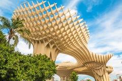 Metropol Parasol Seville miasto w Hiszpania Obraz Stock