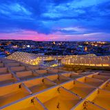 Metropol Parasol in Seville Royalty Free Stock Photo