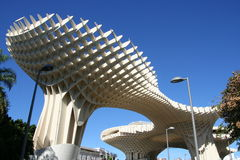 Metropol Parasol in Seville, Spain Royalty Free Stock Image