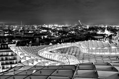 Metropol Parasol in Seville, Spain Royalty Free Stock Photos