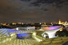 Metropol Parasol in Seville, Spain Royalty Free Stock Photography