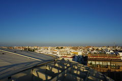 Metropol Parasol. View in Seville from Spain Stock Image