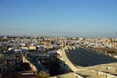 Metropol Parasol. View in Seville from Spain Stock Photo