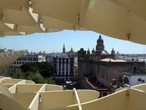 Metropol parasol w Seville Hiszpania światy zdjęcia royalty free
