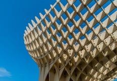 Metropol slags solskydd Sevilla, Spanien arkitektur Arkivfoto