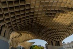 Metropol slags solskydd Sevilla, Spanien arkitektur Royaltyfria Foton