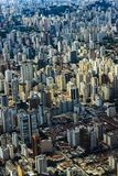 Metropole view from above. Aerial view of Sao Paulo city, Brazil. Metropole view from above. Aerial view of Sao Paulo city, Brazil South America stock images