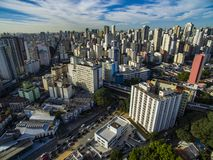 Metropole view from above. Aerial view of Sao Paulo city, Brazil. Metropole view from above. Aerial view of Sao Paulo city, Brazil South America. Pacaembu stock images