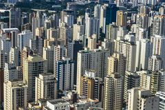Metropole view from above. Aerial view of Sao Paulo city, Brazil. Metropole view from above. Aerial view of Sao Paulo city, Brazil South America stock photos