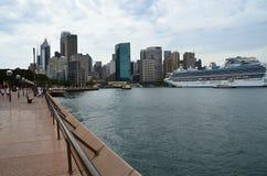 Metropolen-Sydney-Hafen Australien Lizenzfreie Stockfotos