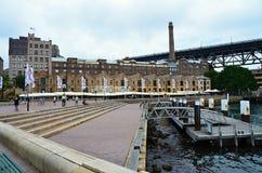 Metropolen-Sydney-Hafen Australien Stockfotografie