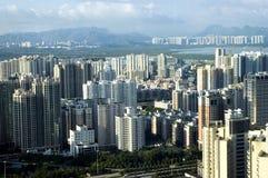 Metropoli cinese fotografie stock