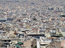 Metropoli d'Athènes en Grèce photographie stock