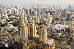 Metropoli di Bangkok in Tailandia Fotografia Stock Libera da Diritti
