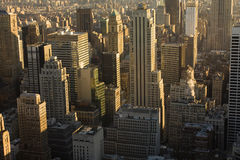 Metropolis. From the top to the bottom Stock Photos