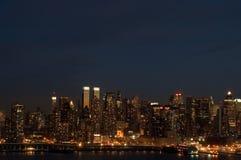 Metropolis 2. Metropolis at night Royalty Free Stock Images