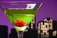 Metropolis Apple Martini Stock Photo