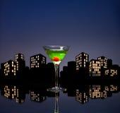 Metropolis Apple Martini Royalty Free Stock Image