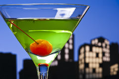 Metropolis Apple Martini Stock Photography