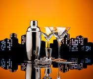 Metropolis Bartender tools Stock Photo