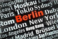 Metropolis Berlin Stock Photography
