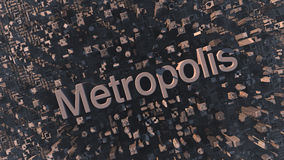 Metropolis Royalty Free Stock Images