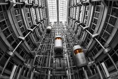 Metropolis, Black And White, Building, Monochrome Photography Stock Image