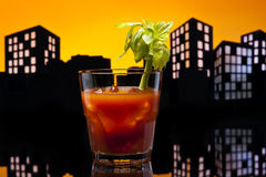 Metropolis Bloody Mary cocktail Stock Image